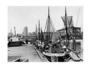 Hafen von Stralsund, 1937 by Scherl
