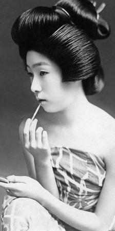 Japanische Geisha, 1935 by Scherl