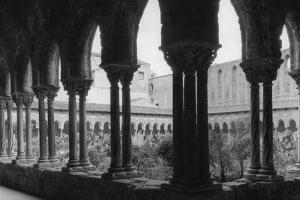 Kreuzgang der Kathedrale von Monreale by Scherl