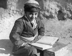 Kurdischer Schuljunge im Iran, 1929 by Scherl