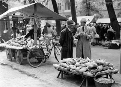 Markt in Münster, 1935