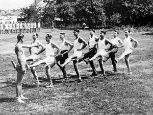 Polizeisport in Amerika, 1932 by Scherl
