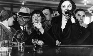 Prohibition in New York, 1931 by Scherl