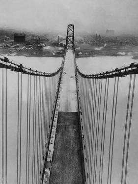 Ambassador Bridge in Detroit, 1929 by Scherl S?ddeutsche Zeitung Photo