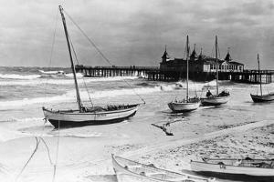 Beach Resort of Ahlbeck on Usedom, 1929 by Scherl S?ddeutsche Zeitung Photo