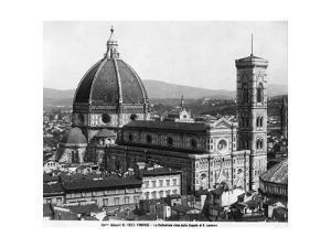 Santa Maria del Fiore in Florenz, 1932 by Scherl