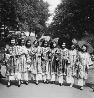 Schönheitswettbewerb in China, 1930