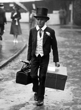 Schüler der Privatschule Eton in London, 1925 by Scherl