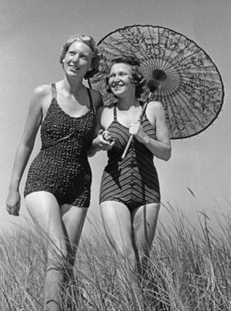 1930's Swimwear by Scherl Süddeutsche Zeitung Photo