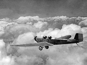 A Klemm L25A in Flight, 1930 by Scherl Süddeutsche Zeitung Photo