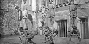Actors of the Meyerhold Stage in Moscow, 1920s by Scherl Süddeutsche Zeitung Photo