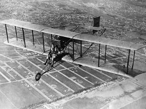 Air Show Near Los Angeles, 1928 by Scherl Süddeutsche Zeitung Photo