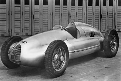 """Auto-Union Race Car """"Type D"""", 1938 by Scherl Süddeutsche Zeitung Photo"""