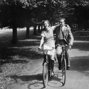 Bicycle Excursion in Brandenburg by Scherl Süddeutsche Zeitung Photo