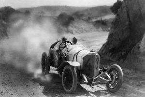 Car Race for the 'Targa Florio' in Sicily, 1922 by Scherl Süddeutsche Zeitung Photo