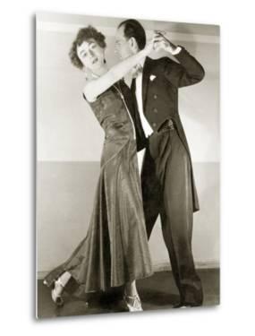 Couple While Dancing Tango, 1929 by Scherl Süddeutsche Zeitung Photo