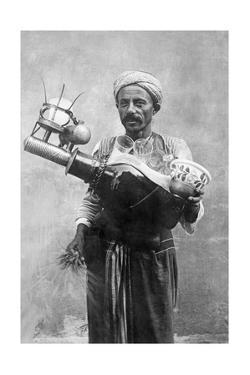 Egyptian Street Vendor in Cairo, 1928 by Scherl Süddeutsche Zeitung Photo