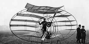 Flying Machine Built by Marquis D'Equeville, 1909 by Scherl Süddeutsche Zeitung Photo