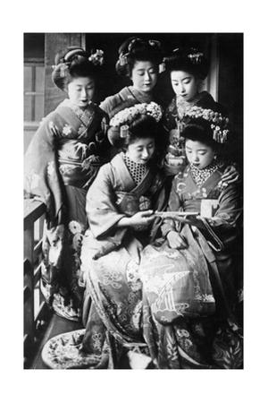 Girls in Japan, 1933