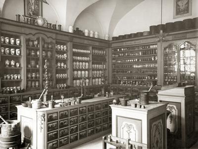Historical Pharmacy by Scherl Süddeutsche Zeitung Photo