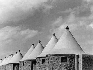 Huts for Workers at the Suez Canal, 1939 by Scherl Süddeutsche Zeitung Photo