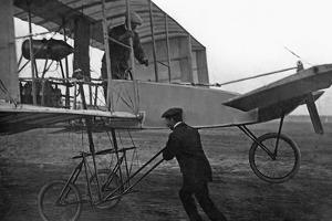 International Flight Week in Berlin on the Johannisthal Airfield, 1909 by Scherl Süddeutsche Zeitung Photo