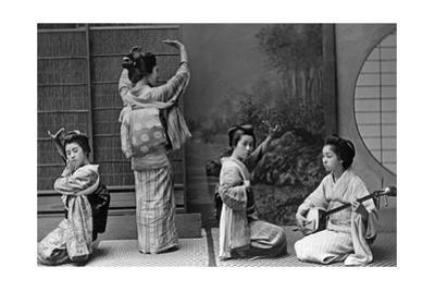 Japanese Geishas, 1910's by Scherl Süddeutsche Zeitung Photo