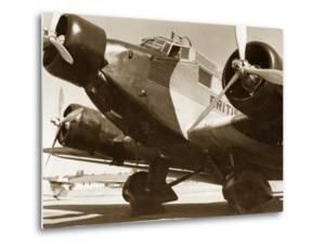 Junkers Ju 52 of the British Airways, 1937 by Scherl Süddeutsche Zeitung Photo