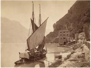 Lake Garda, around 1905 by Scherl Süddeutsche Zeitung Photo