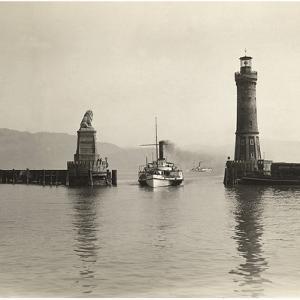 Lighthouse of Lindau, 1913 by Scherl Süddeutsche Zeitung Photo