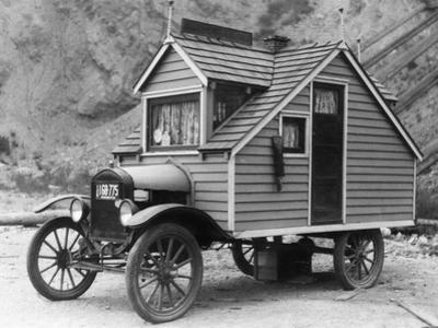 Mobile Home, 1926 by Scherl Süddeutsche Zeitung Photo