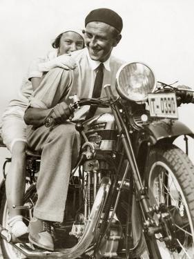 Motorbike, 1932 by Scherl Süddeutsche Zeitung Photo