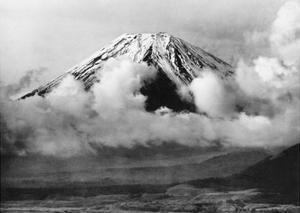 Mount Fuji in Japan, 1930's by Scherl Süddeutsche Zeitung Photo