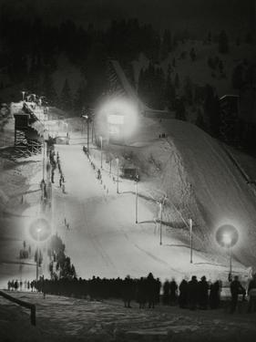 Olympic Winter Games in Garmisch-Partenkirchen, 1936 by Scherl Süddeutsche Zeitung Photo