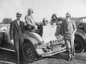 Polo Society in Argentina, 1929 by Scherl Süddeutsche Zeitung Photo