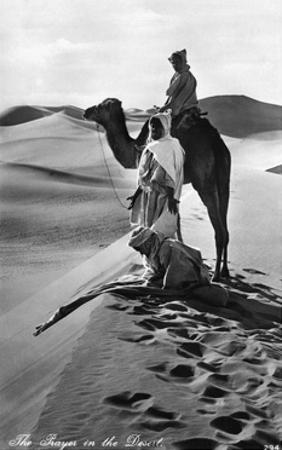 Prayer in the Desert, 1935