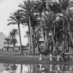 Pyramid of Dahshur, 1902 by Scherl Süddeutsche Zeitung Photo