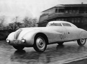 "Race Car ""Adler"" on the Avus in Berlin, 1935 by Scherl Süddeutsche Zeitung Photo"