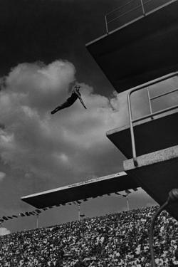 Richard Degener at the Olympic Games in Berlin, 1936 by Scherl Süddeutsche Zeitung Photo