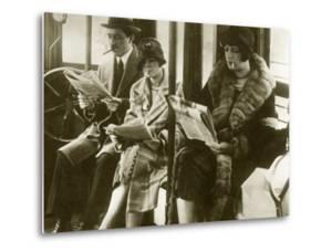 Smoking Women, 1925 by Scherl Süddeutsche Zeitung Photo
