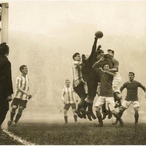 Soccer, 1914 by Scherl Süddeutsche Zeitung Photo