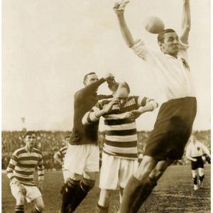 Soccer Match Between Scotland and Germany, 1922 by Scherl Süddeutsche Zeitung Photo