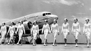 Stewardesses of Trans World Airlines, 1938 by Scherl Süddeutsche Zeitung Photo