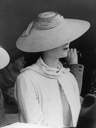 Strawhat for Women, 1937 by Scherl Süddeutsche Zeitung Photo