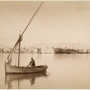 Suez Harbor, 1895 by Scherl Süddeutsche Zeitung Photo