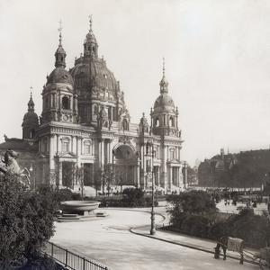 The Berlin Cathedral, 1911 by Scherl Süddeutsche Zeitung Photo
