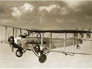 The De Havilland Dh.66 'Hercules', 1929 by Scherl Süddeutsche Zeitung Photo