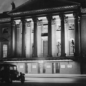 The Staatsoper Unter Den Linden in Berlin at Night, 1933 by Scherl Süddeutsche Zeitung Photo
