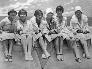 Wealthy Women in China, 1927 by Scherl Süddeutsche Zeitung Photo