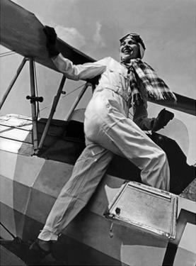 Young Female Pilot in Germany, 1937 by Scherl Süddeutsche Zeitung Photo